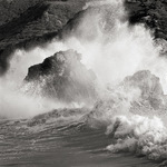 Crashing Wave, California Coast, 1998